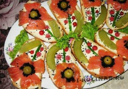Пошаговый фото рецепт Бутерброды