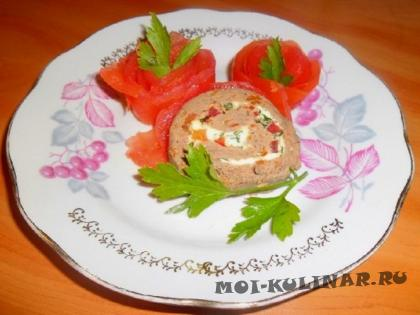 Пошаговый фото рецепт Украшение: розочки из помидоров