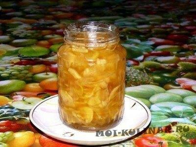 Варенье лимон с имбирем