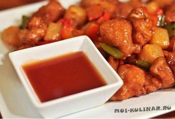 Домашний кисло-сладкий соус по-китайски