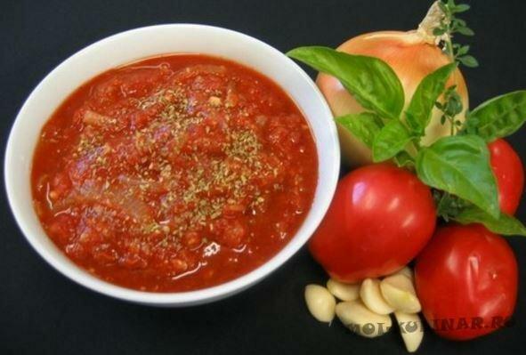 Томатно-чесночный соус к блюдам из рыбы