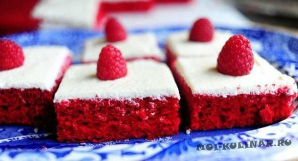 Красный бархатный пирог
