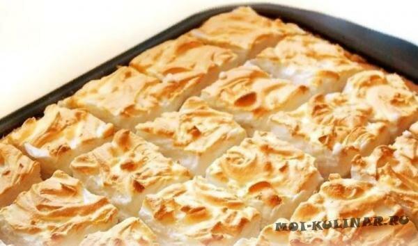 Яблочный пирог на сахарном тесте